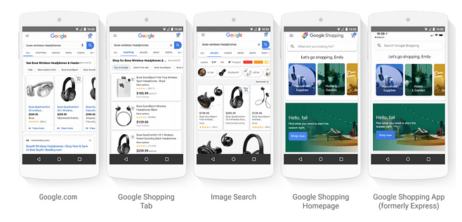google shopping actions vs shopping ads