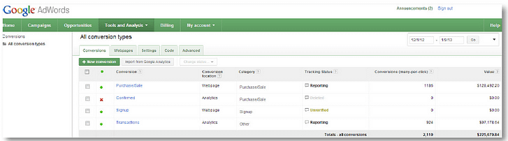product listing ads reporting errors tools and analysis screen