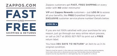 zappos-ecommerce-return-policy