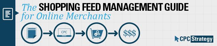 shopping feed management