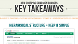 New Shopping Campaign Changes: Key Takeaways