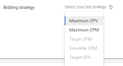 cpv bidding youtube