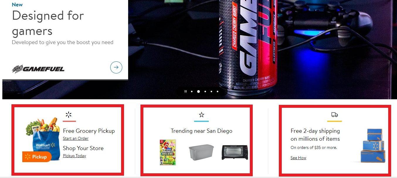 walmart ecommerce website