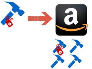 Amazon commingled stickerless inventory