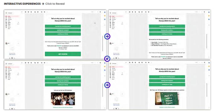 google amp email interactie experiences