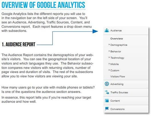 411 on Google Analytics