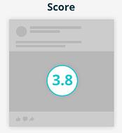 facebook algorithm score