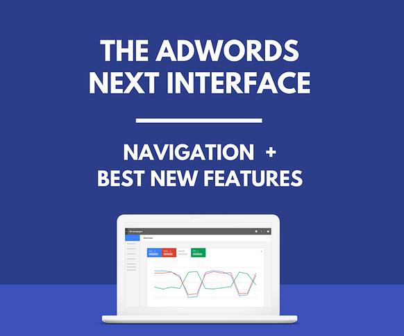 google ads interface