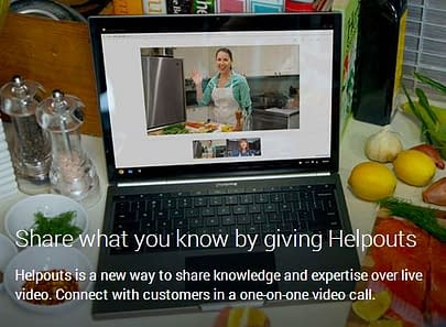 give your own Google Helpouts