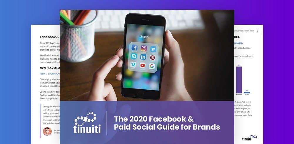 2020 Paid Social Marketing Guide