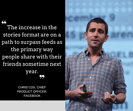 chris cox f8 conference facebook stories