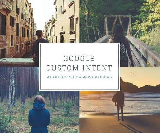 google custom intent audiences