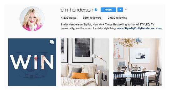 em henderson influencer marketing cpc strategy blog instagram