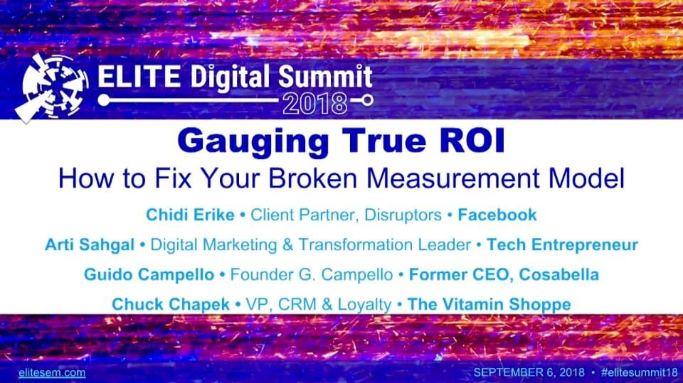 Gauging True ROI: How to Fix Your Broken Measurement Model
