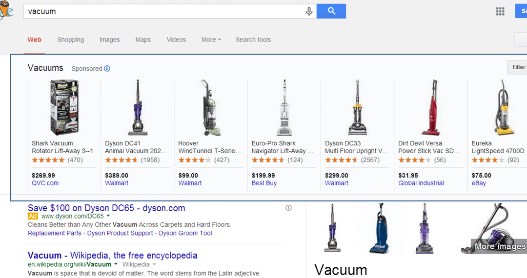 Google Testing Product Carousel for Search