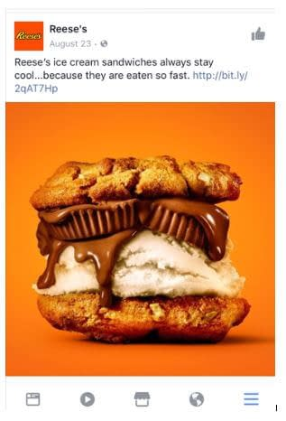 facebook advertising examples