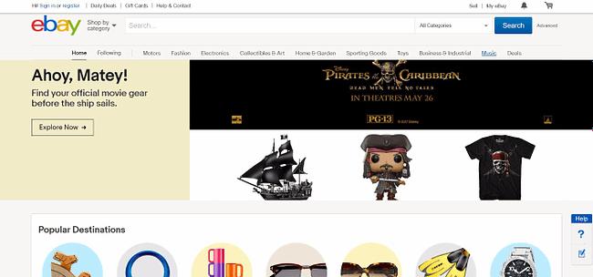 top 10 online marketplaces ebay