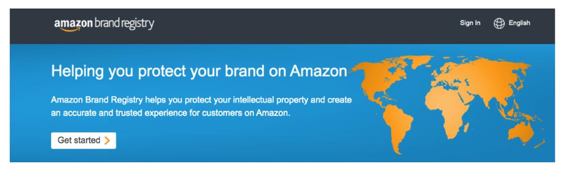 amazon brand registry