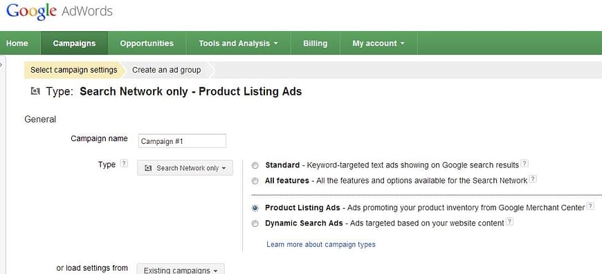 product-listing-ads-new-campaign