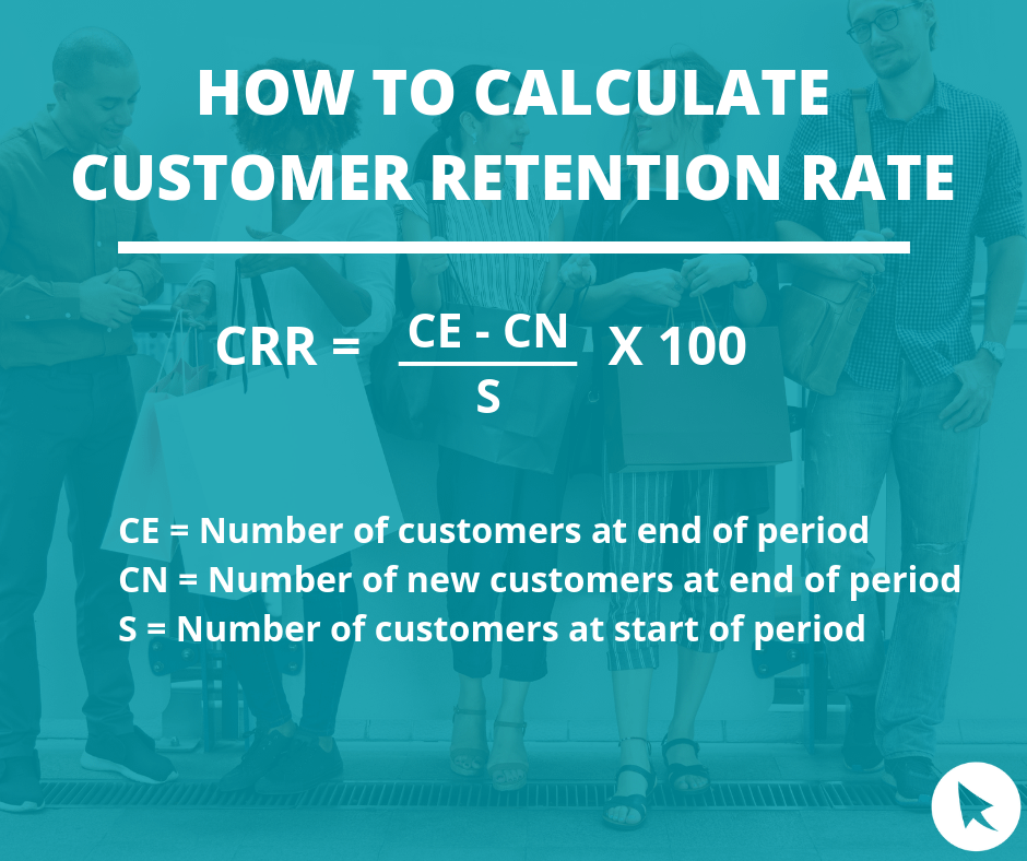calculate customer retention rate