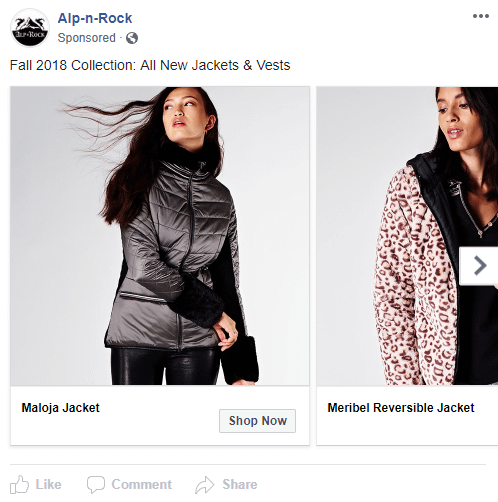 alp n rock collection facebook ad
