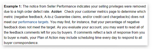 Amazon seller suspension action plan for sellers