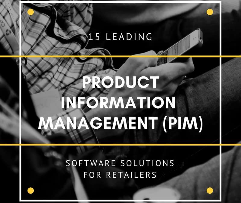 Top 15 Best Product Information Management (PIM) Software of 2019