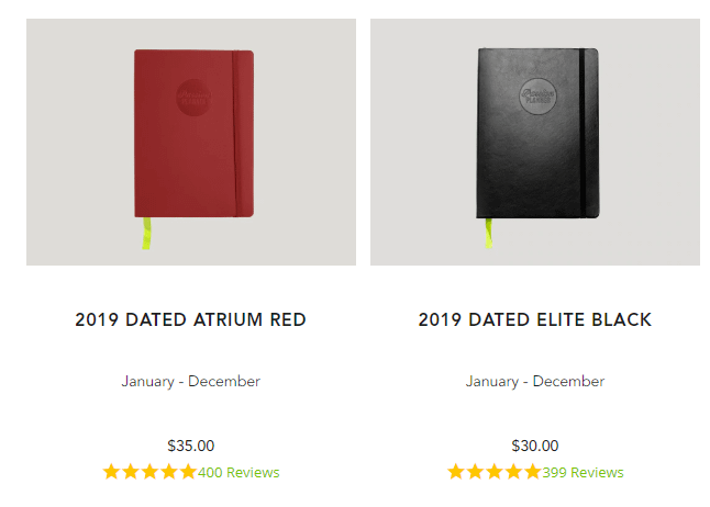 passion planner test pricing