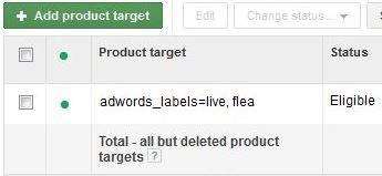 adwords label