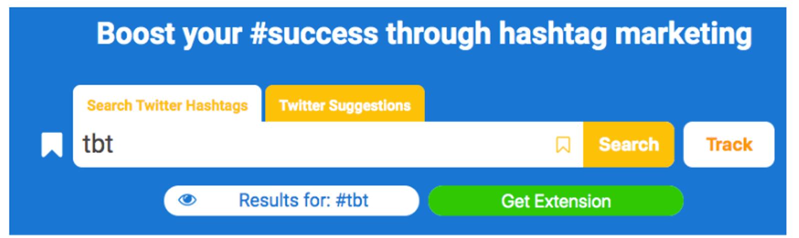 hashtagify ferramentas de análise do instagram