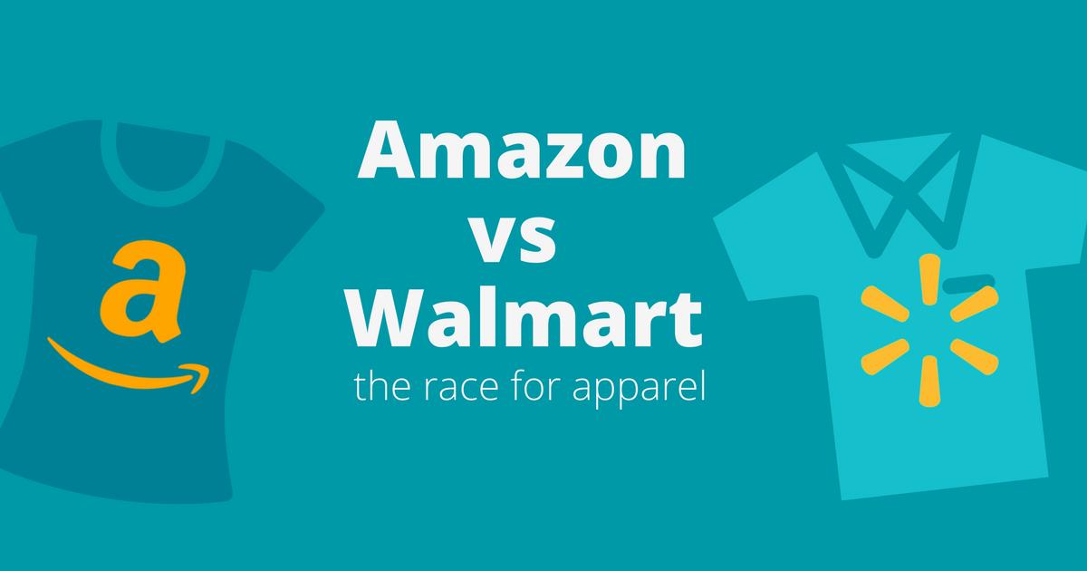 amazon vs walmart apparel