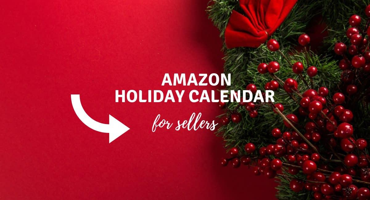 amazon holiday calendar