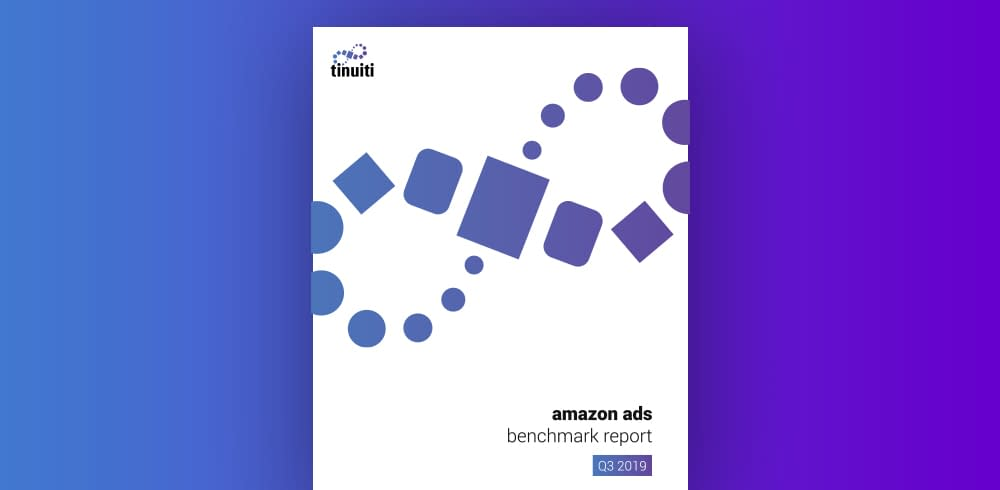Tinuiti Releases Amazon Ads Benchmark Report for Q3 2019
