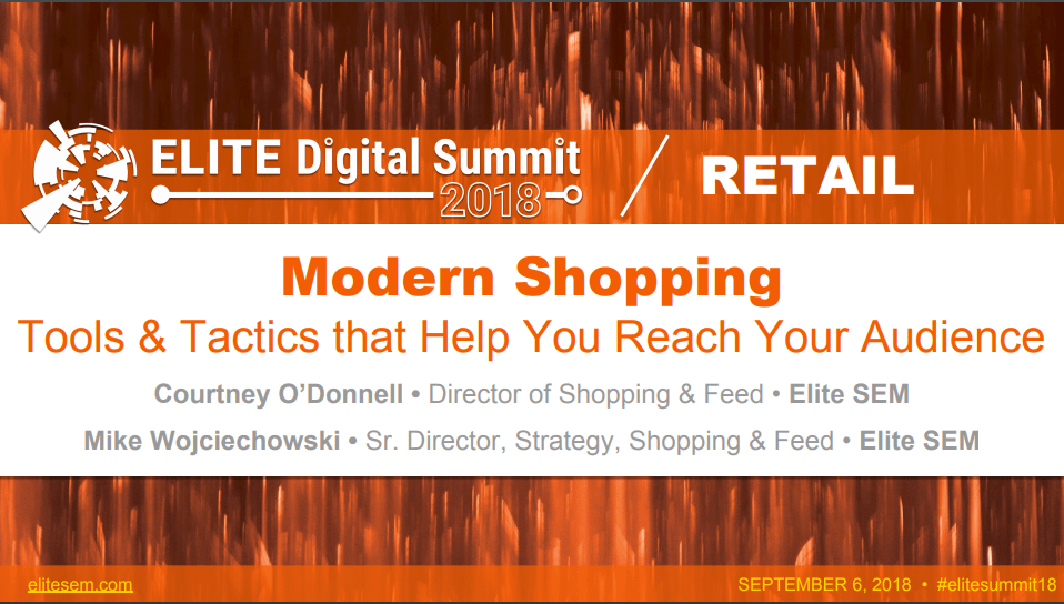 Modern Shopping: Tools and Tactics that Help you Reach Your Audience