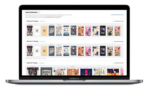 apple search ads creative sets