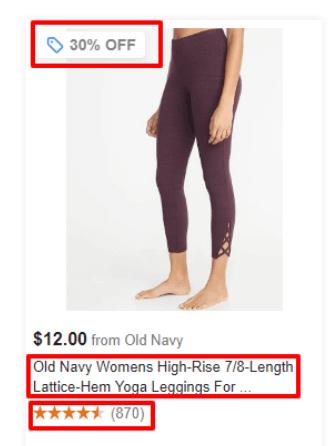 google product listing ad pla