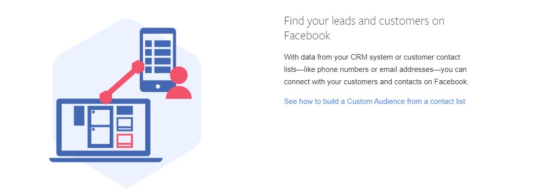 facebook custom audiences customer list