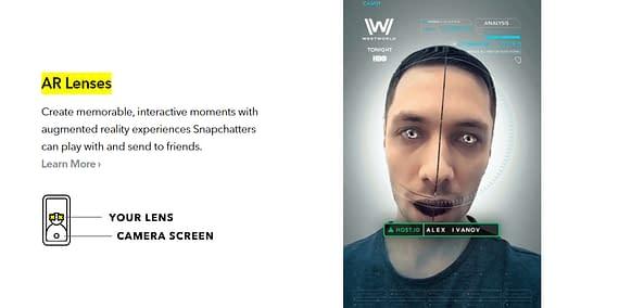 snapchat ads ar
