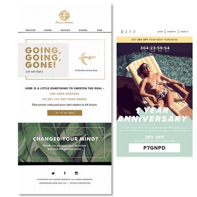 email branding design