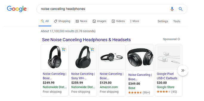 google shopping actions reporting