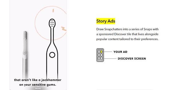 snap story ads