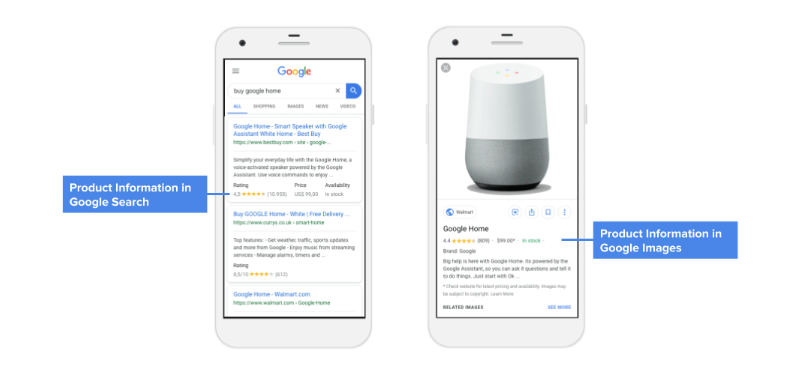 Google Adds Rich Media To Product Pages, Expands Product Feeds To Search