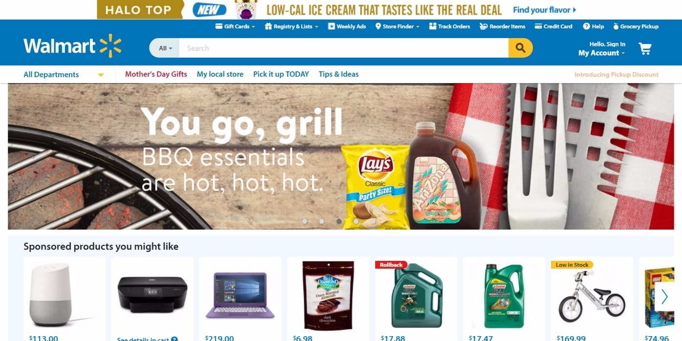 walmart marketplace home page
