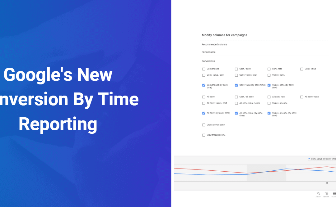 Google Introduces New Conversion By Time Reporting
