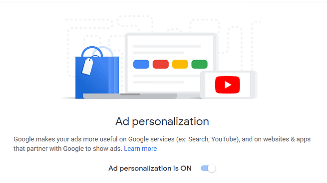 data sharing ad personalization