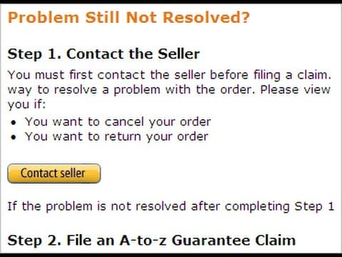 amazon a to z claims