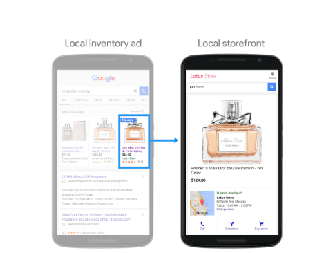 google local storefront