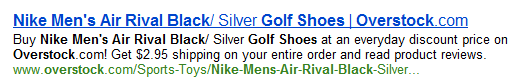 Rich Snippets for products - Bing