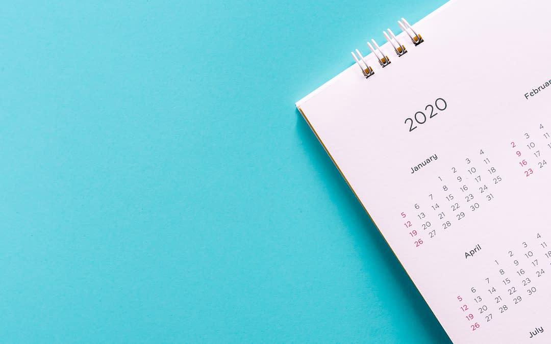 marketing calendar 2020 with holidays
