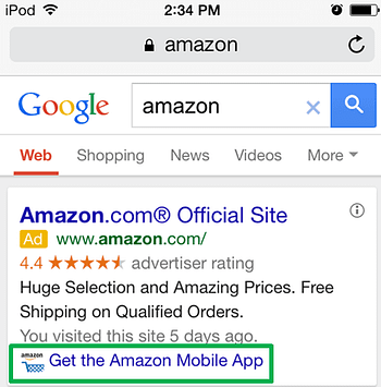 AdWords Extensions Guide App Example